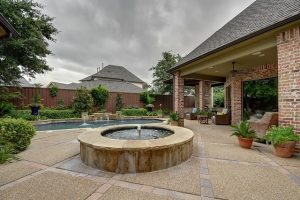 Simple Pool Landscaping